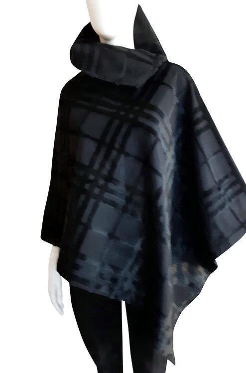 Italian Wool Poncho