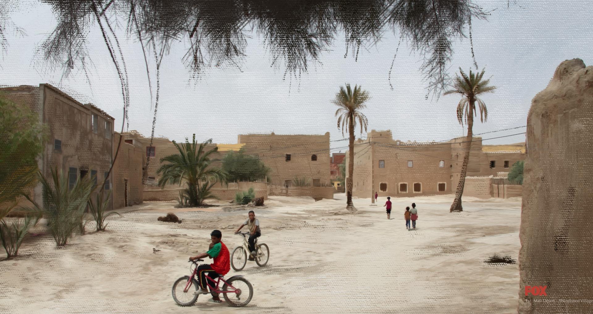 DS2: Mali village / Concept