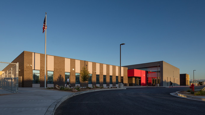 Jenkins Elementary School - Architectural Photographer Michael Tessler - 16.jpg