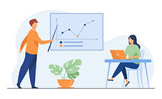 Business coach showing growth graph to businesswoman.jpg