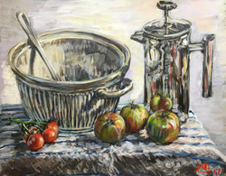Still life with Caf