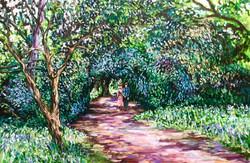 Felbrigg gardens and Courting couple