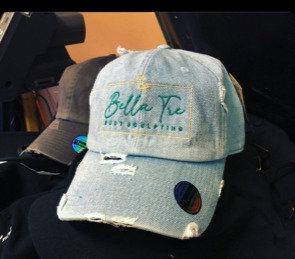 Logo Hat Denim