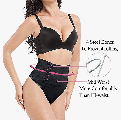 High waist Thong Everyday Compression Large