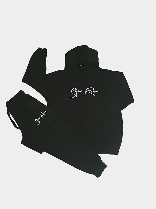 Black Signature Sweatsuit