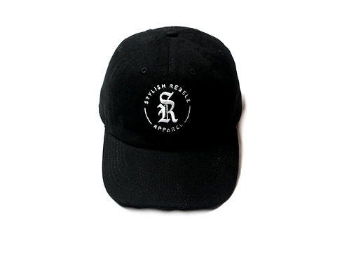 Black Emblem Dad Hat