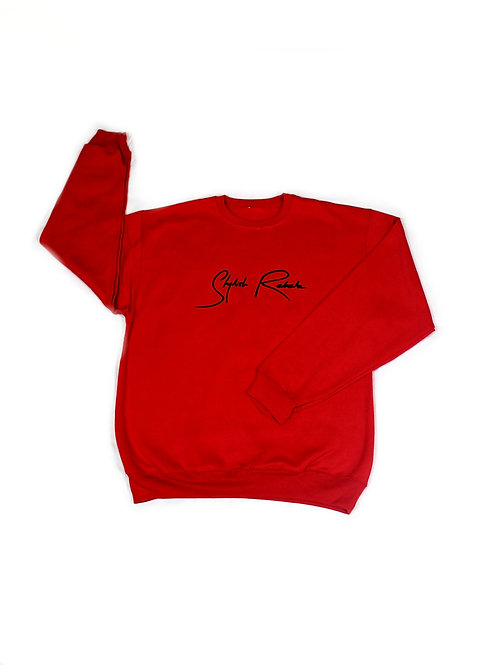 Red Signature Classic Sweatshirt