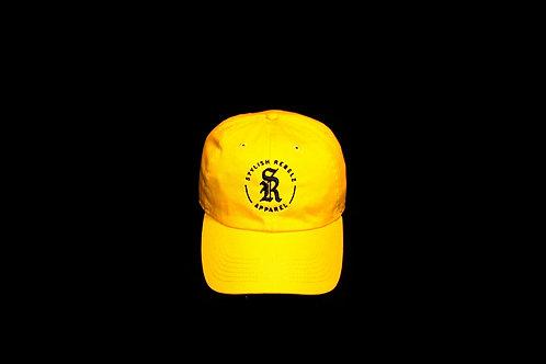Yellow Emblem Dad Hat