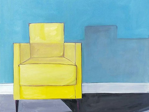 Yellow Chair For Rothko