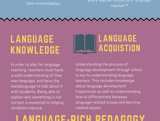 Every teacher is a language teacher?