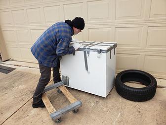 Frisco freezer, mattress removal (1).jpg