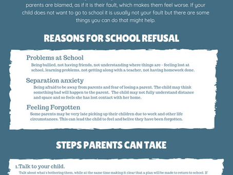 School Refusal: What Parents can do?