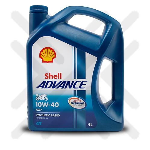 Shell Advance AX7 10W-40 4L