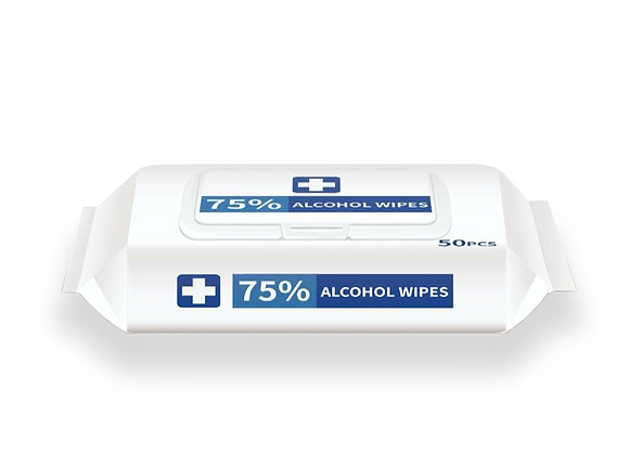 75% Alcohol Sanitising Surface and Hand Wipes