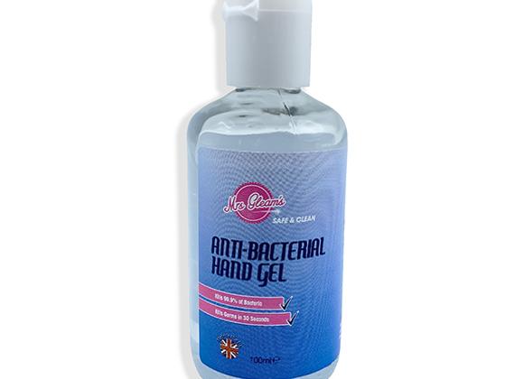 Anti-Bacterial Hand Sanitiser 100ML 70% Alcohol -FCSLBWMGHG/100