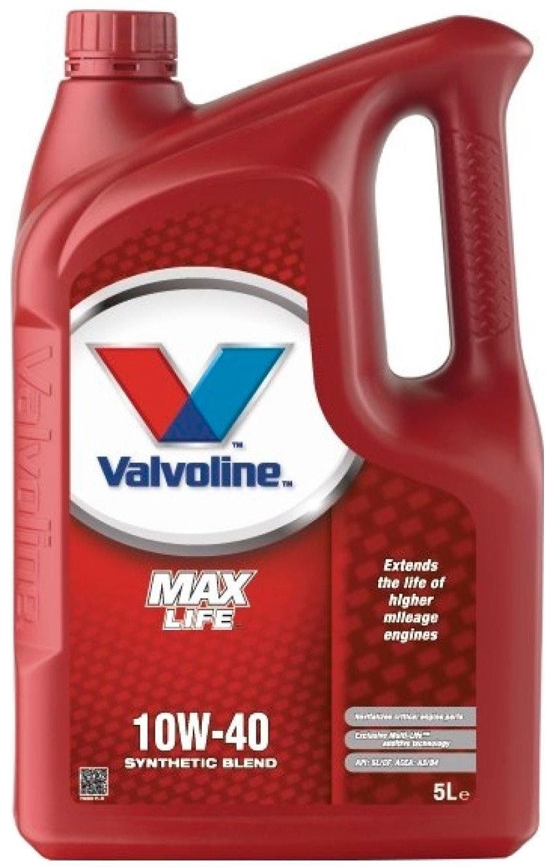 Valvoline Maxlife Semi-Synthetic 10W-40 10 Litres