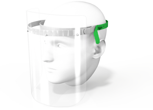 Re-Usable Face Shield