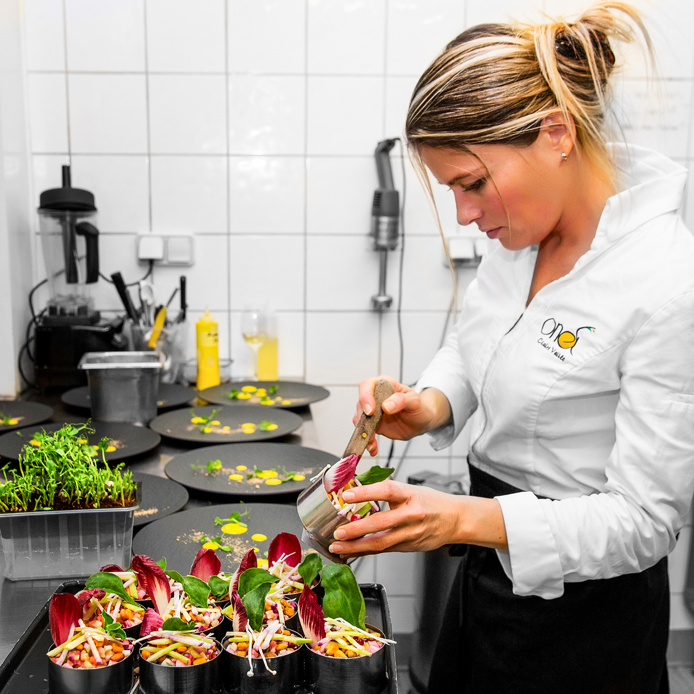 CHEF VEGAN CLAIRE VALLEE / RESTAURANT ONA