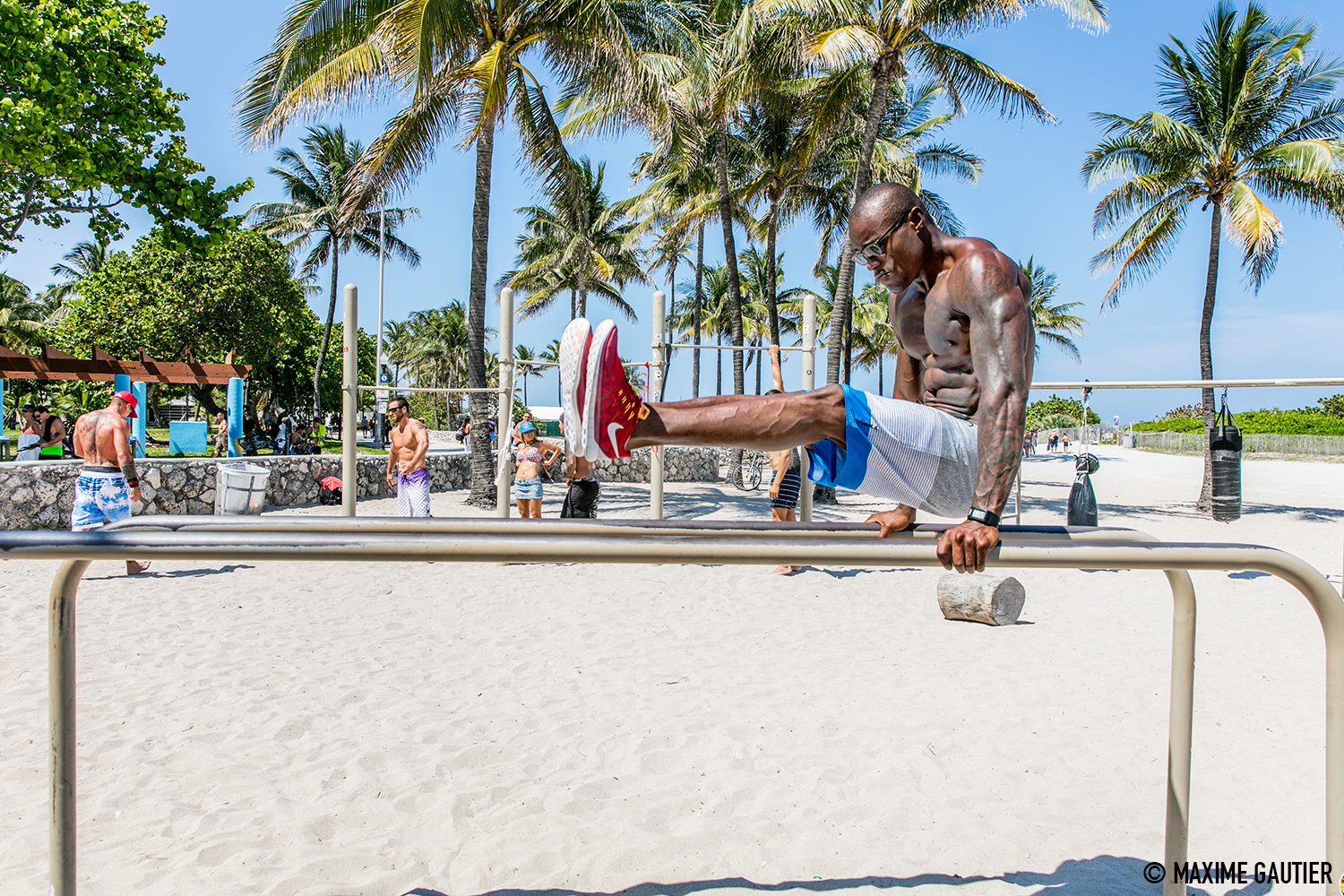 STREET WORKOUT / MIAMI BEACH
