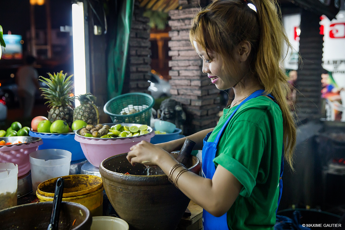 UNE CANTINE A BANGKOK / THAILANDE