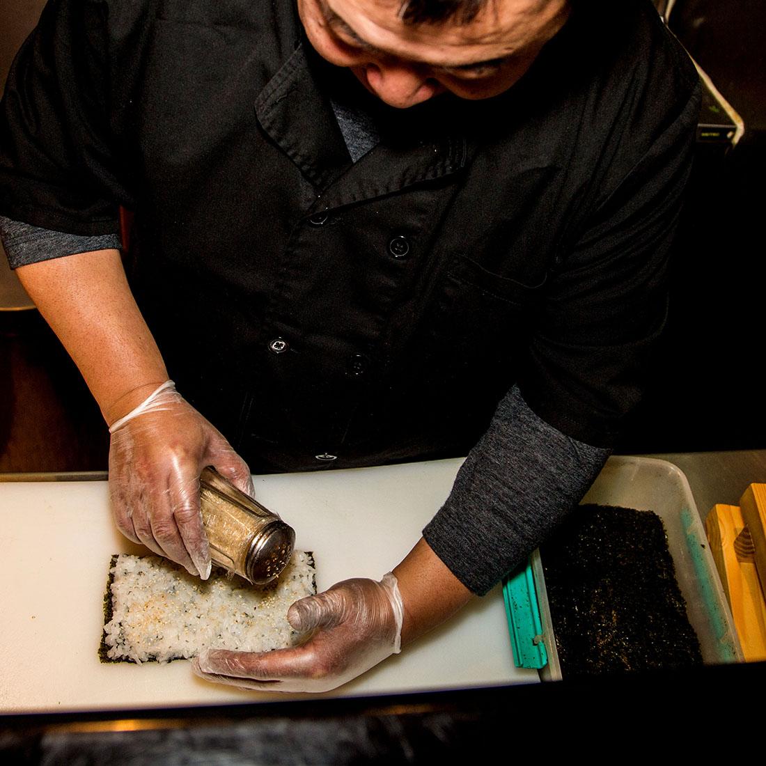 Quyen / Sushi Man à Paris