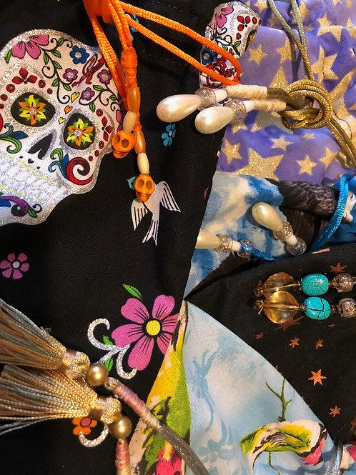Imbued magic bags - for tarot or mystical treasures