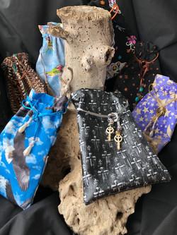 Fun beaded bags
