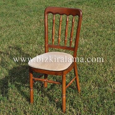 Kahverengi tonet sandalye kiralama
