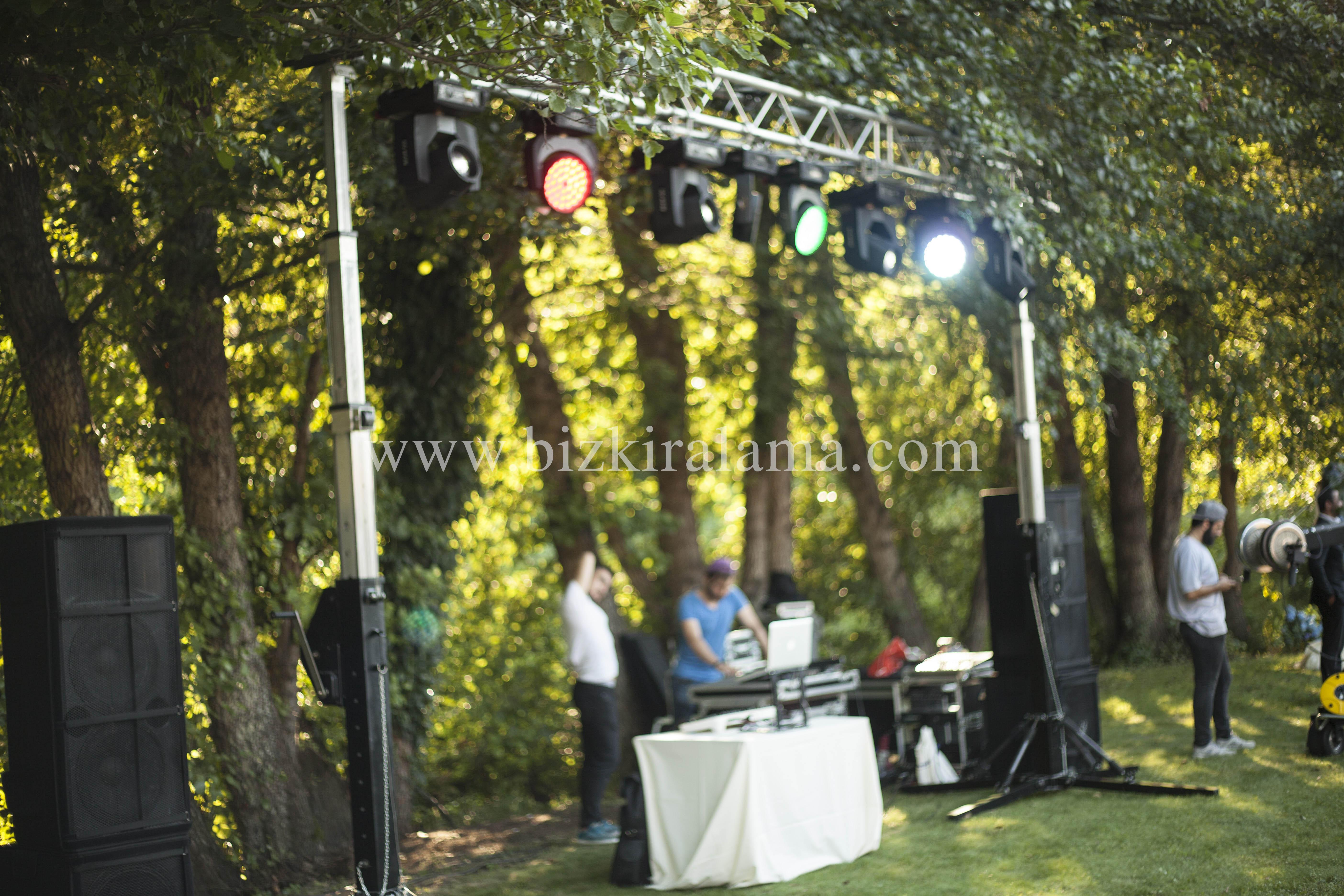Sahne Işıklandırma ve ses sistemleri