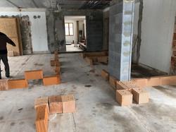 Rekonstrukce - rozvržení příček
