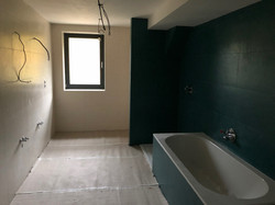 Nová koupelna - obklady a zařízení