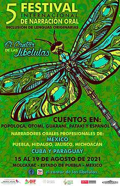 5° FESTIVAL INTERNACIONAL DE NARRACION ORAL EL CANTAR DE LAS LIBELULAS