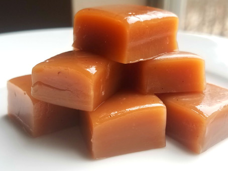 The Perfect Romantic Treat - Vanilla Bean Caramels