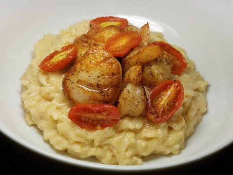 Seafood Risotto Recipe From A Masterchef Competitor