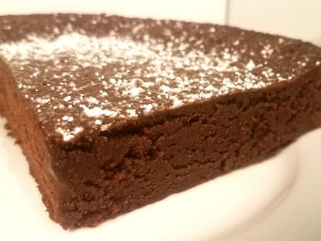 Rich Flourless Chocolate Cake Recipe + Catering News