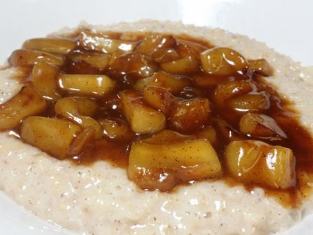 Fall Breakfast Recipe - Apple Pie Oatmeal