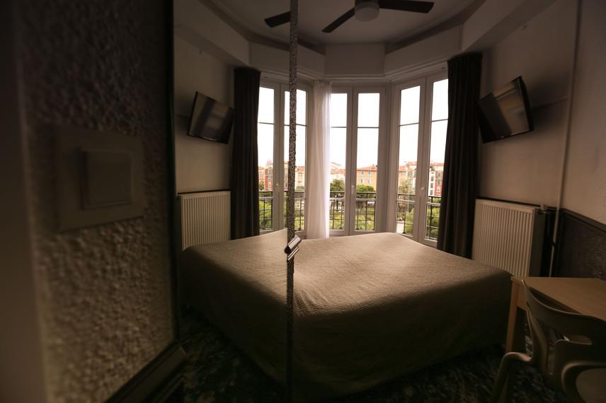 Chambre I Hôtel Acanthe en plien centre de Nice