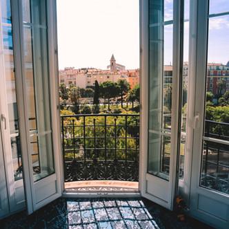 Décoration I  Hôtel Acanthe en plein centre de Nice