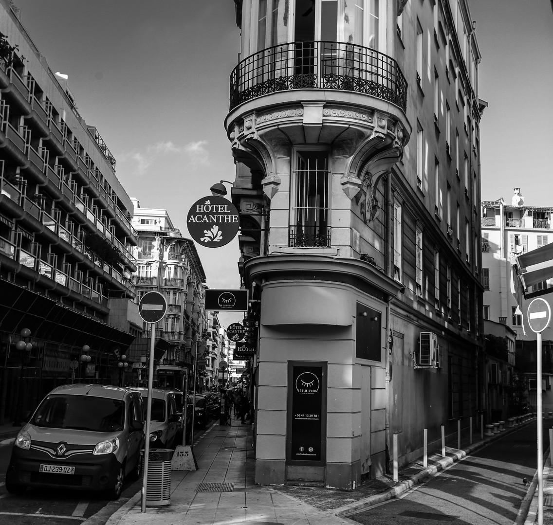 Hôtel Acanthe  I Hôtel plein centre à Nice