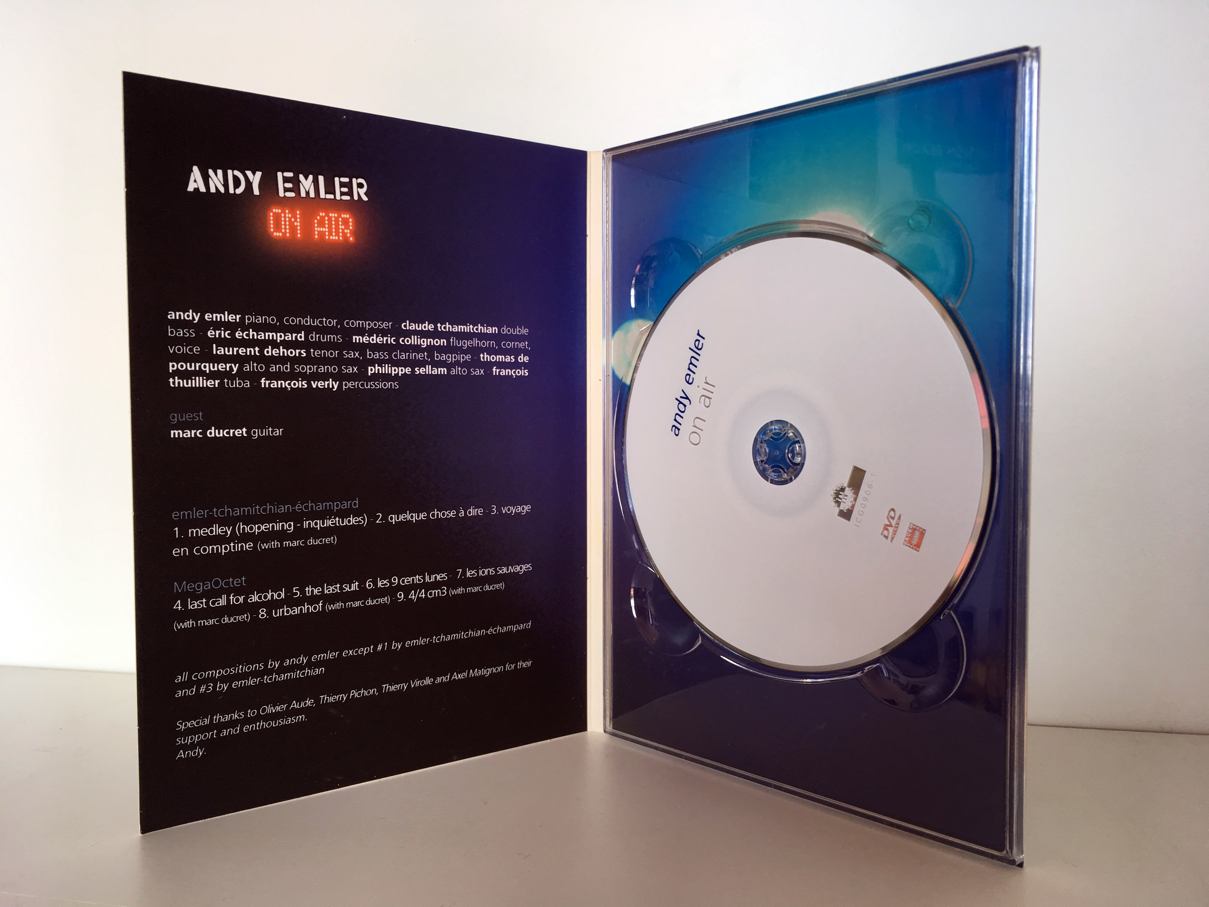 DVD ANDY EMLER - 2007