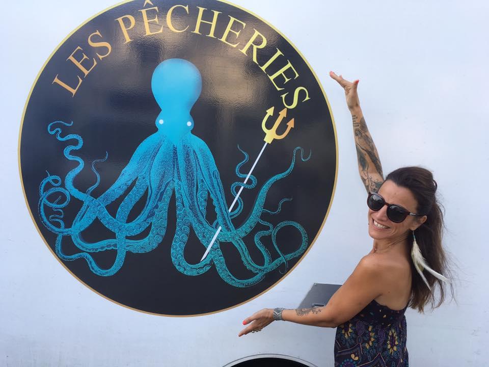 """Création du Logo """" Les Pêcheries"""""""