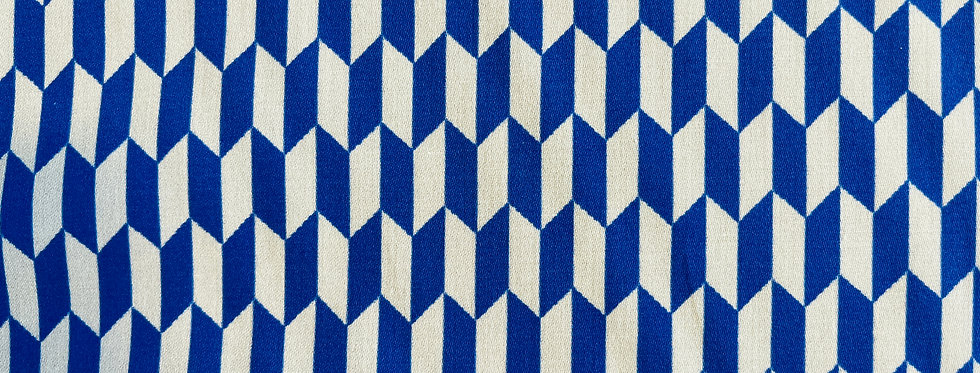 !B&B SPECIAL Meterware BLUE AND WHITE ARROWS