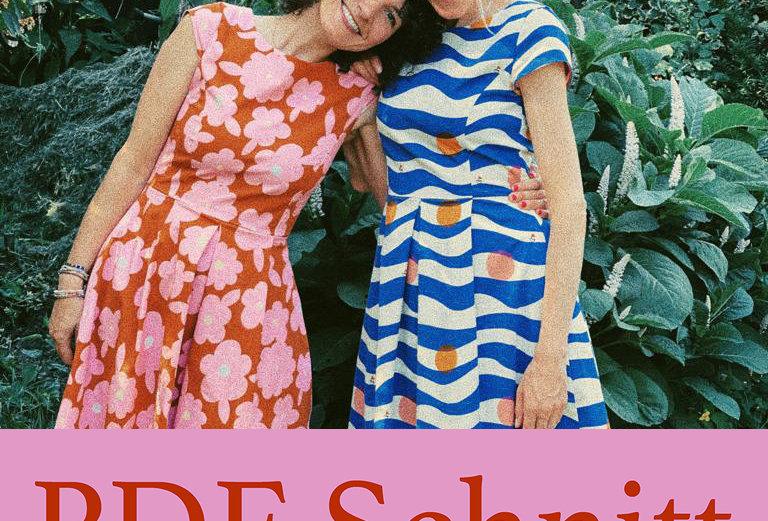 PDF Schnittmuster 34/36/38 Kleid DAISY zum Downloaden