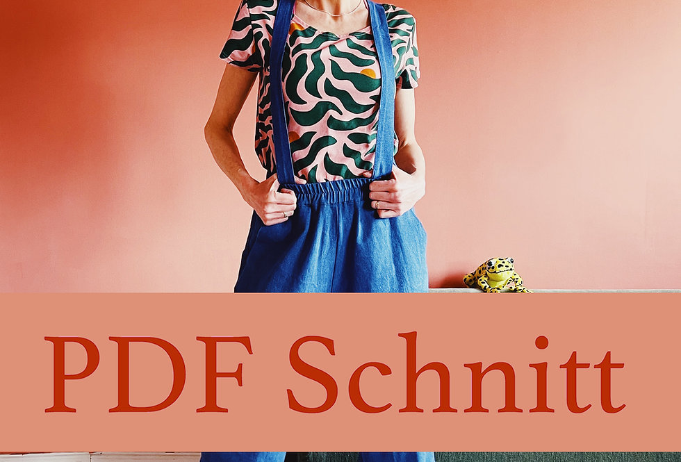 PDF Schnittmuster 36-46 Hose HARRIET zum Downloaden