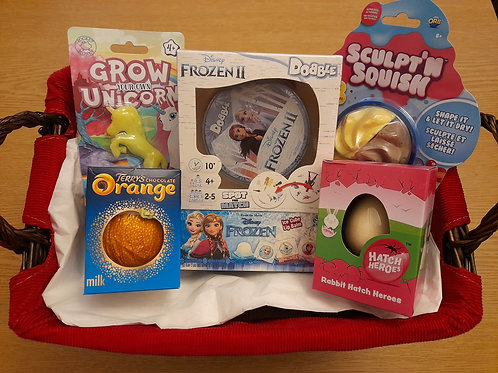 Frozen 2 Dobble themed gift box