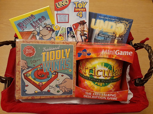 Family Fun Mixed Ages Games Box