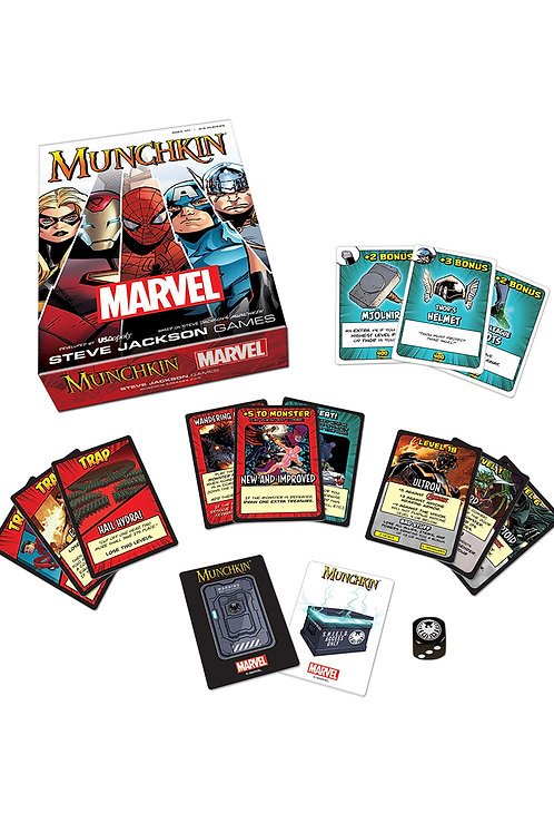 Munchkin - Marvel