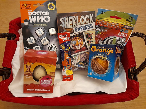 Dr Who Story Cubes Mystery Gift Easter Box