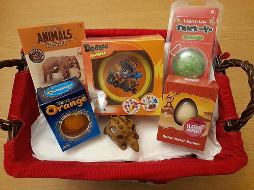 Animal Dobble and Creatures Great and Small Themed Gift Box