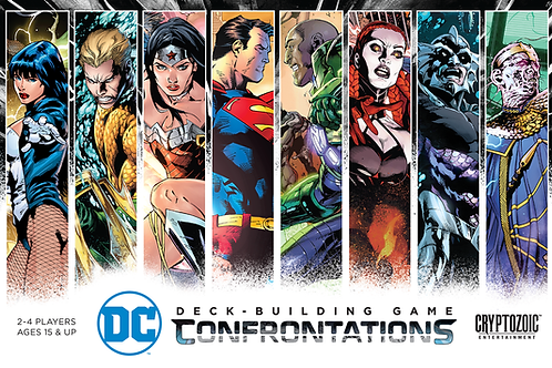 Confrontations: DC Deck-building game